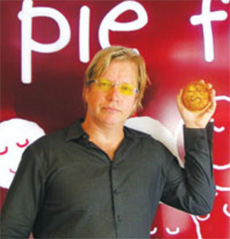 Wayne Homschek of Pie Face