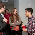 Young Entrepreneurs Gather for Networking and Drinks in NYC