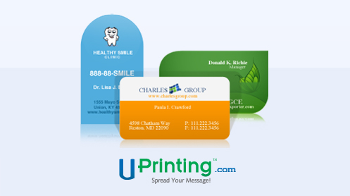 Enter now win a free set of business cards via uprinting colourmoves