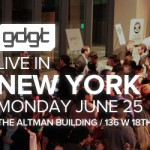 Free Event: gdgt Live in New York