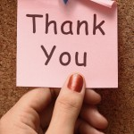 Giving Thanks to Your Customers
