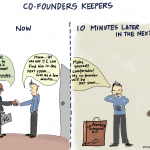 Comic: Co-Founders Keepers