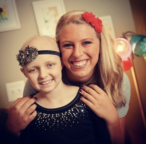 Jessica Ekstrom and Headbands of Hope