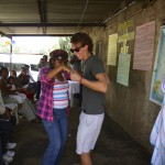 Co-founder Matt Wilson joins in a traditional Nicaraguan dance