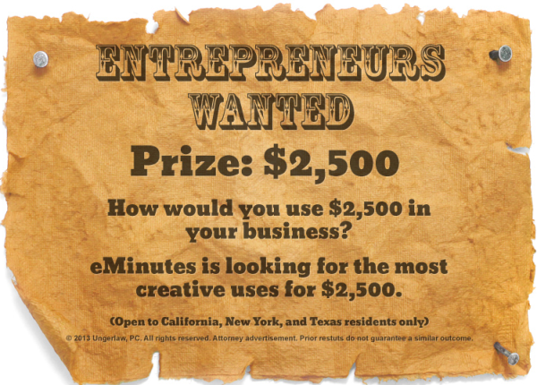 Enter Now: Win $2,500 for Your Business – Partner Offer