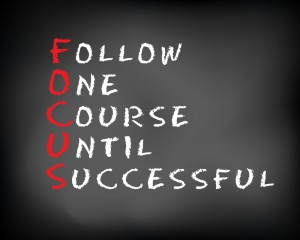 Want to Win? Tackle These Issues and Stay Focused!