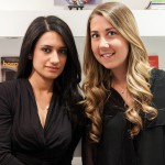 UpSpring PR co-founders (L to R) Tiffany Tabar and Sarah Nelkin