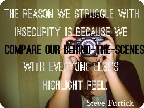 comparing to others