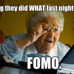 5 Ways to Deal with FoMO or the Fear of Missing Out