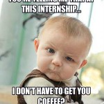 Leveraging Internships as Experience