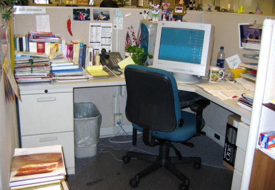 Go Back > Gallery For > Cubicle Office Organization
