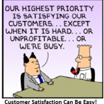 It All Comes Back To Happy Customers