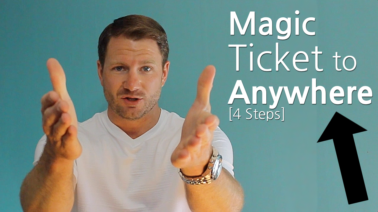 Magic Ticket to Anywhere [4steps] 1280x720