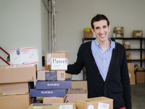 Jesse Kaplan With Packages