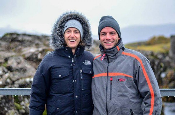 Myself and Jared O'Toole on one of our trips to Iceland!