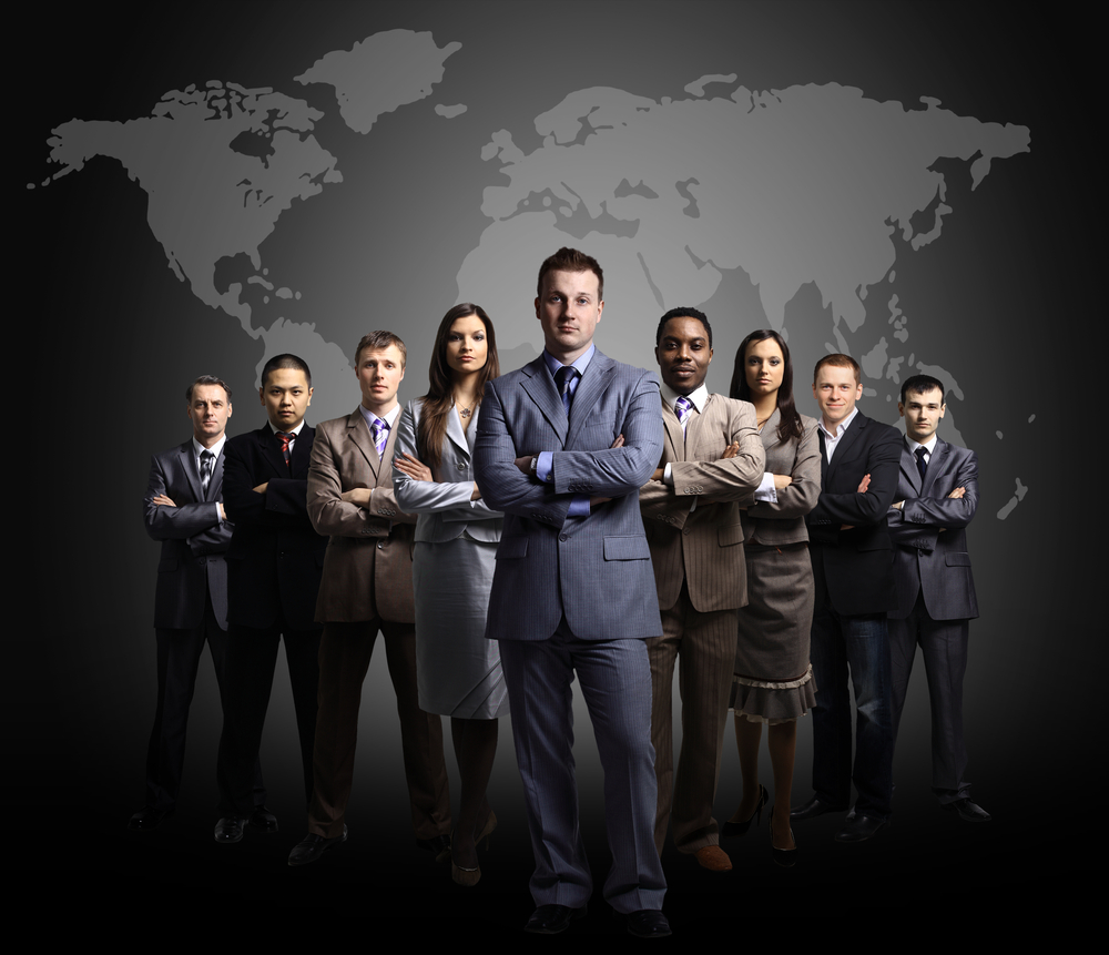 business leaders A business is responsible to several entities - its shareholders, its customers, its users (for example, in the case of a search engine, a person performing a search is a user, whereas the advertiser who pays the search engine for showing ads is t.